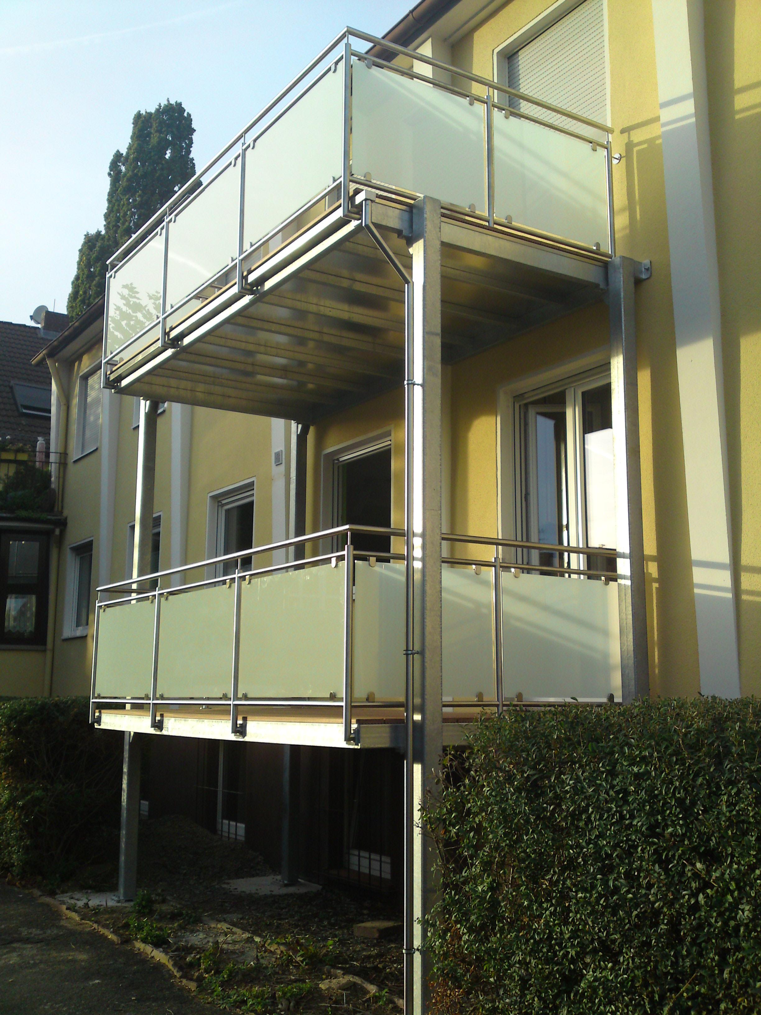 Balkonanlage »BA010811« von Metallbau Becker & Vogt