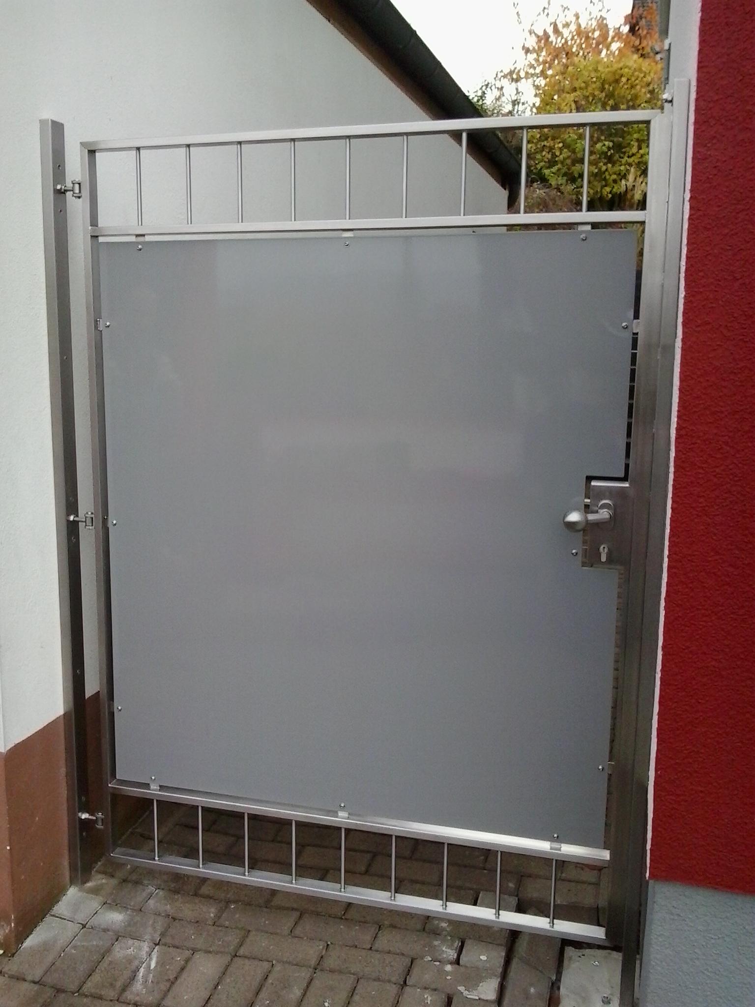 Tür »T160519« von Metallbau Becker & Vogt