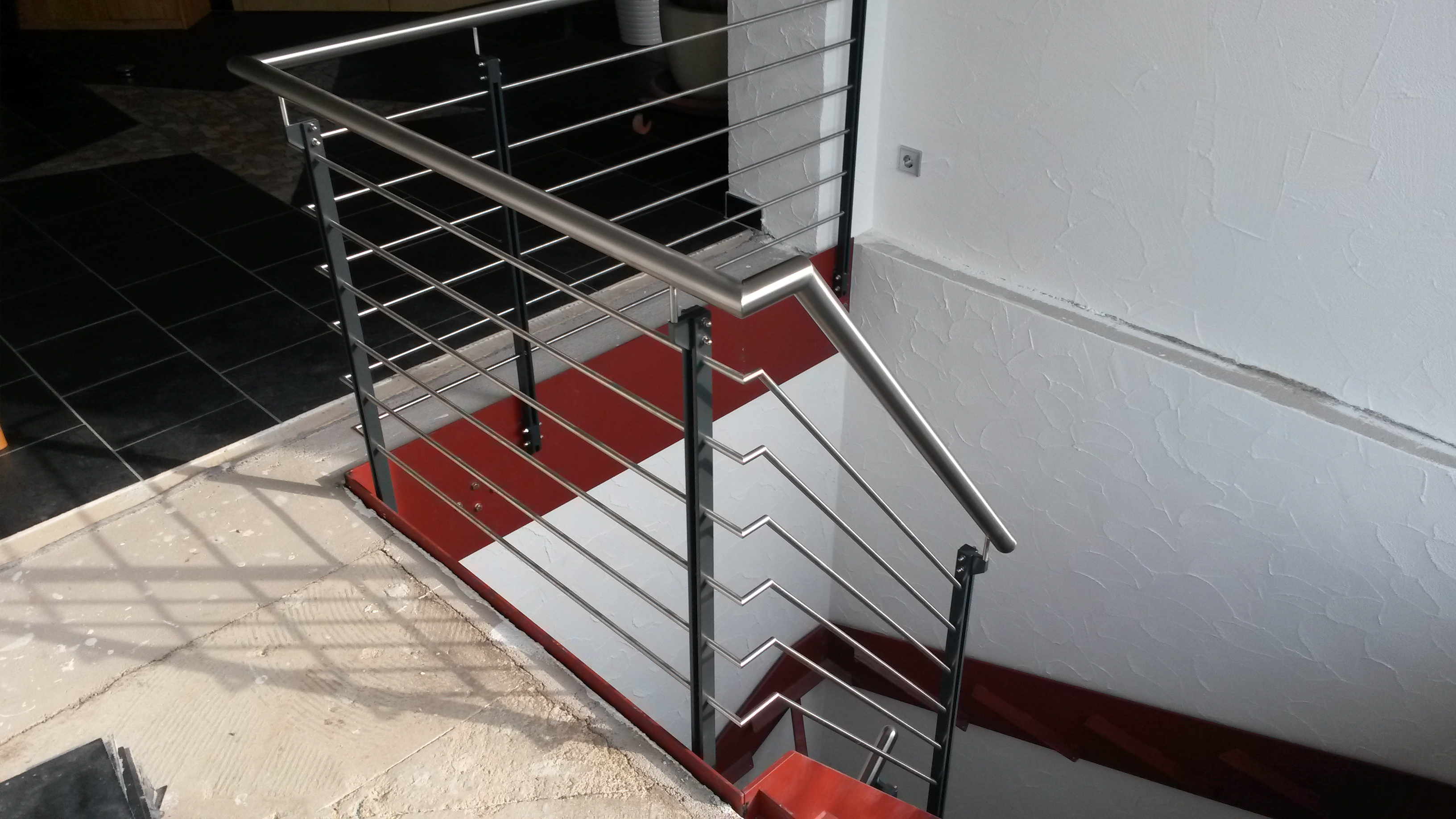 Treppengeländer »TG172915« von Metallbau Becker & Vogt