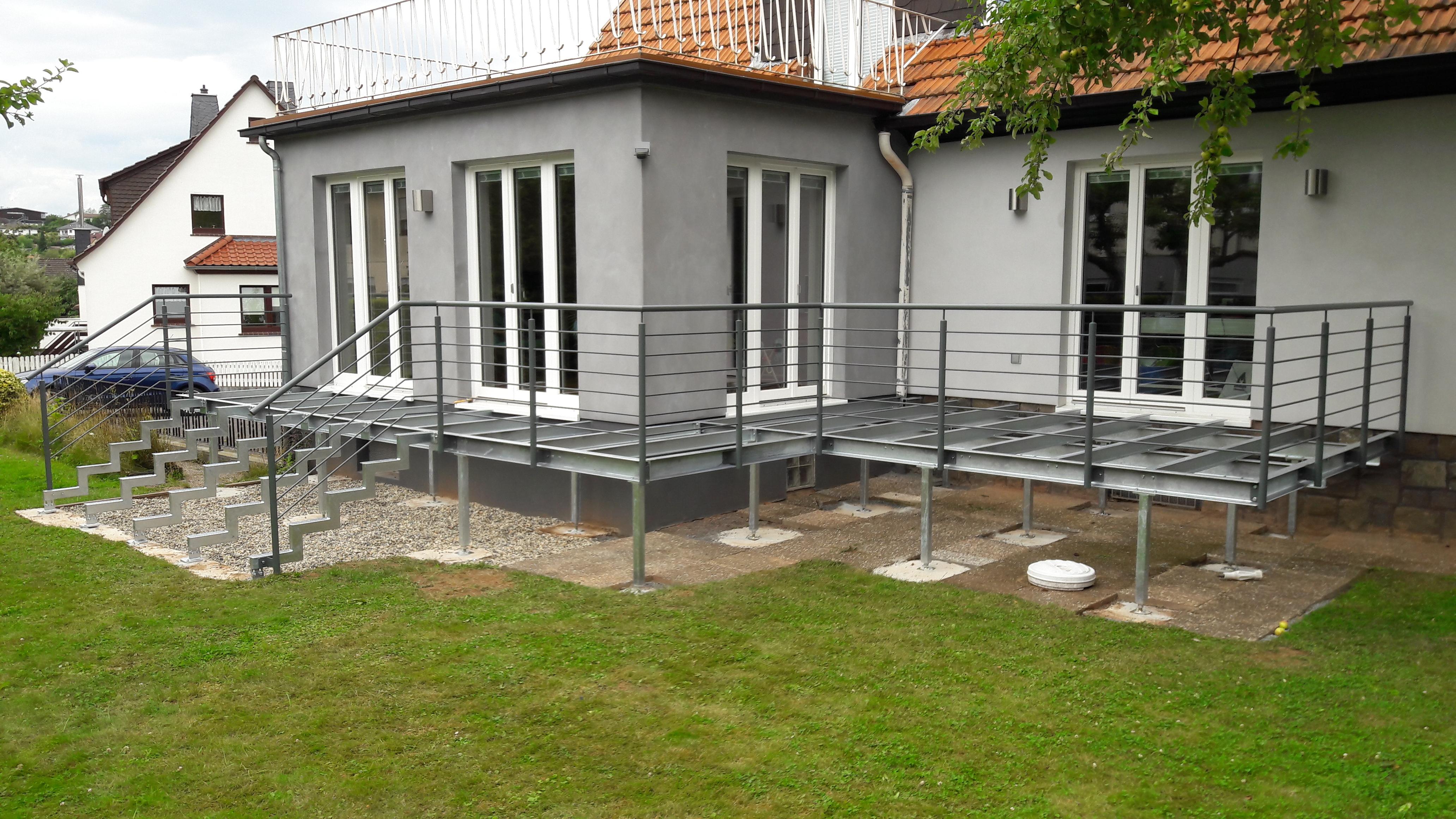 Balkonanlage »BA170254« von Metallbau Becker & Vogt