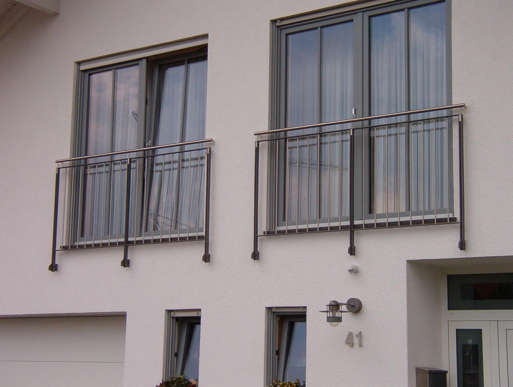 Französischer Balkon »FB13« von Metallbau Becker & Vogt