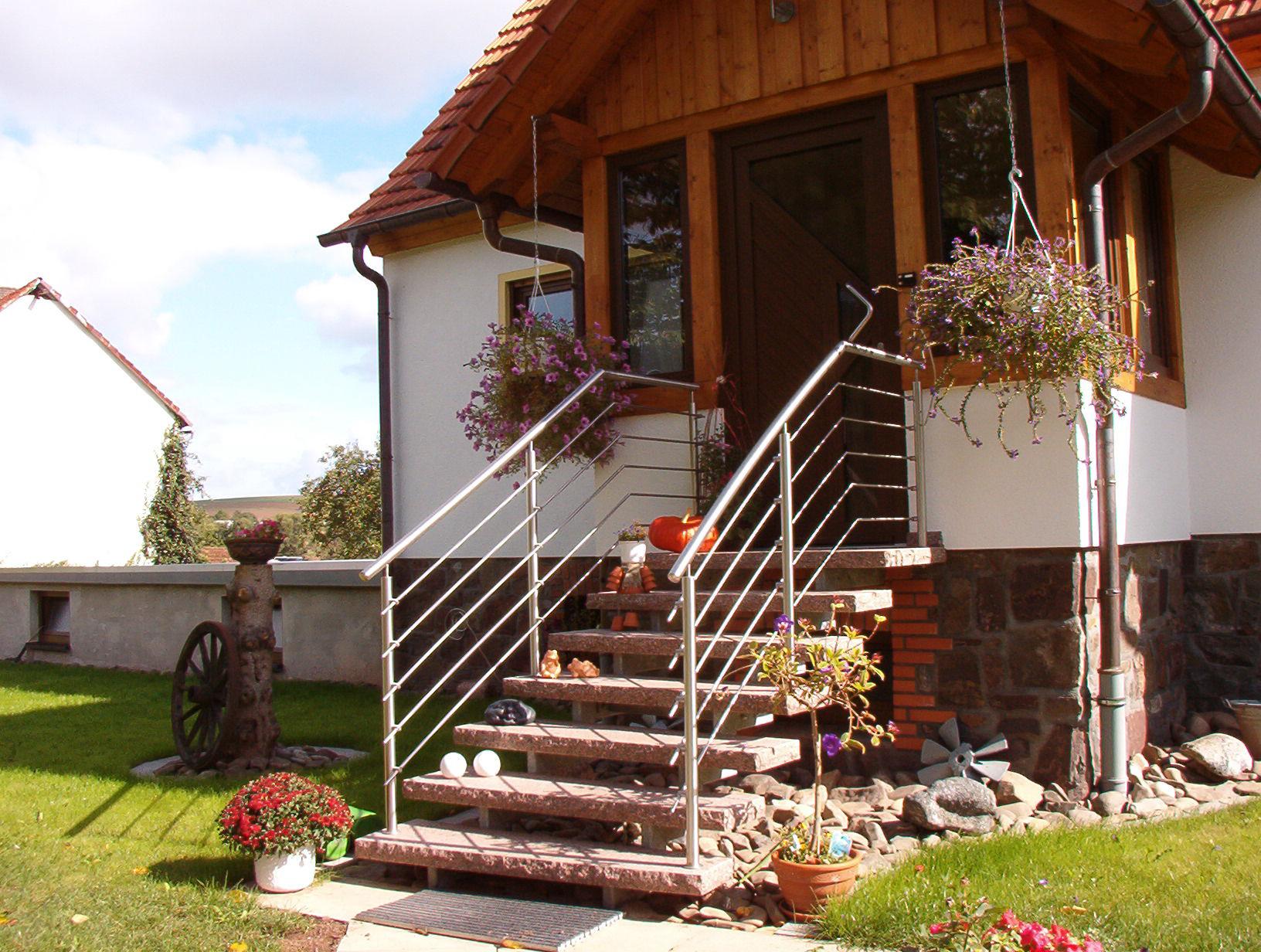 Treppengeländer »TG5« von Metallbau Becker & Vogt