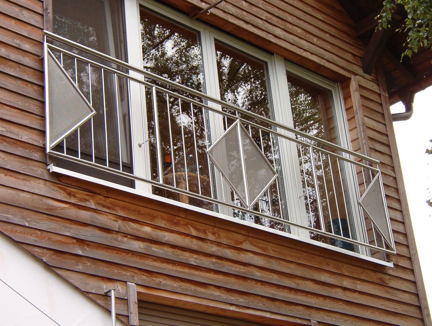 Französischer Balkon »FB9« von Metallbau Becker & Vogt