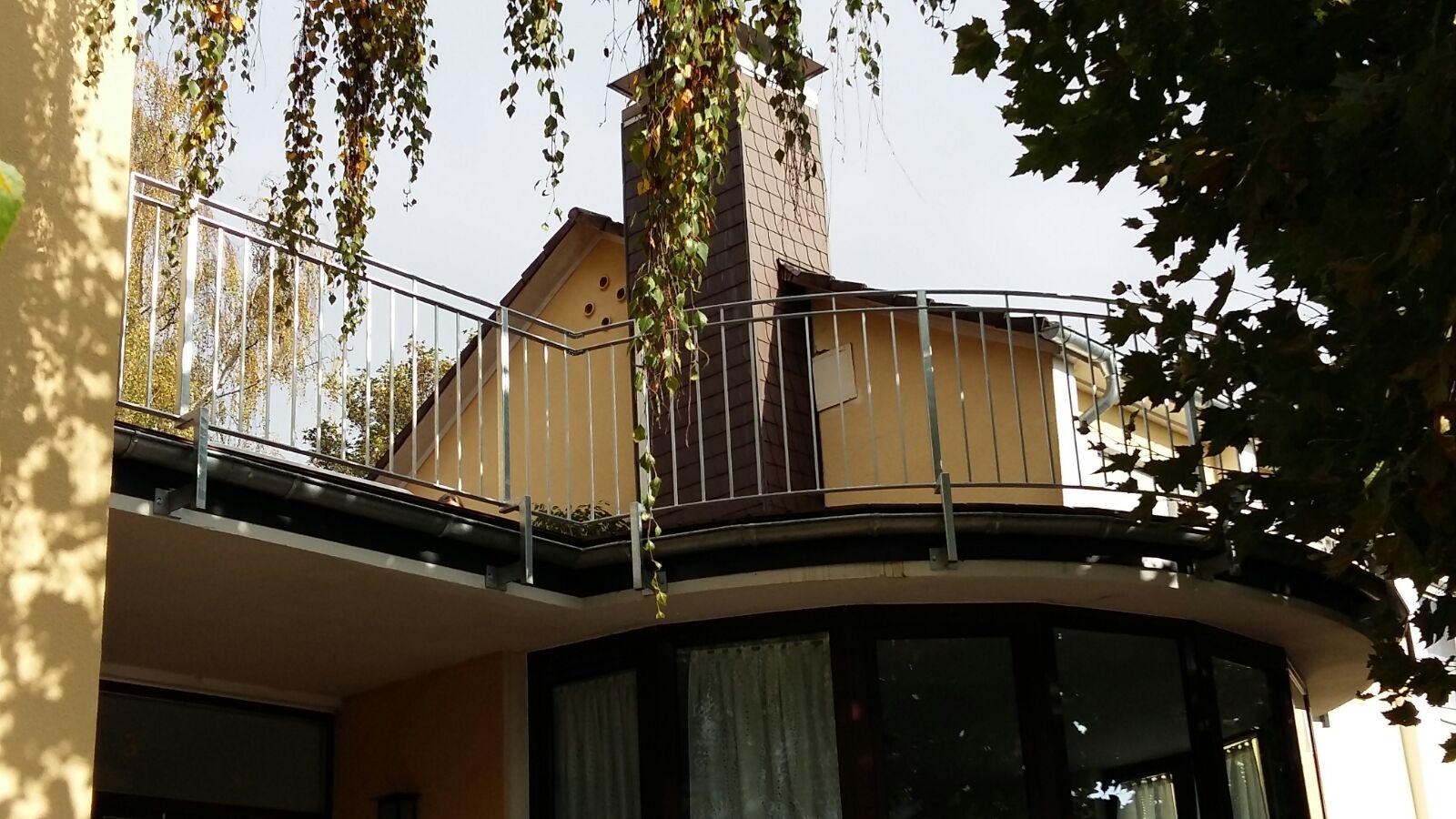 Balkongeländer »BGWA0002« von Metallbau Becker & Vogt