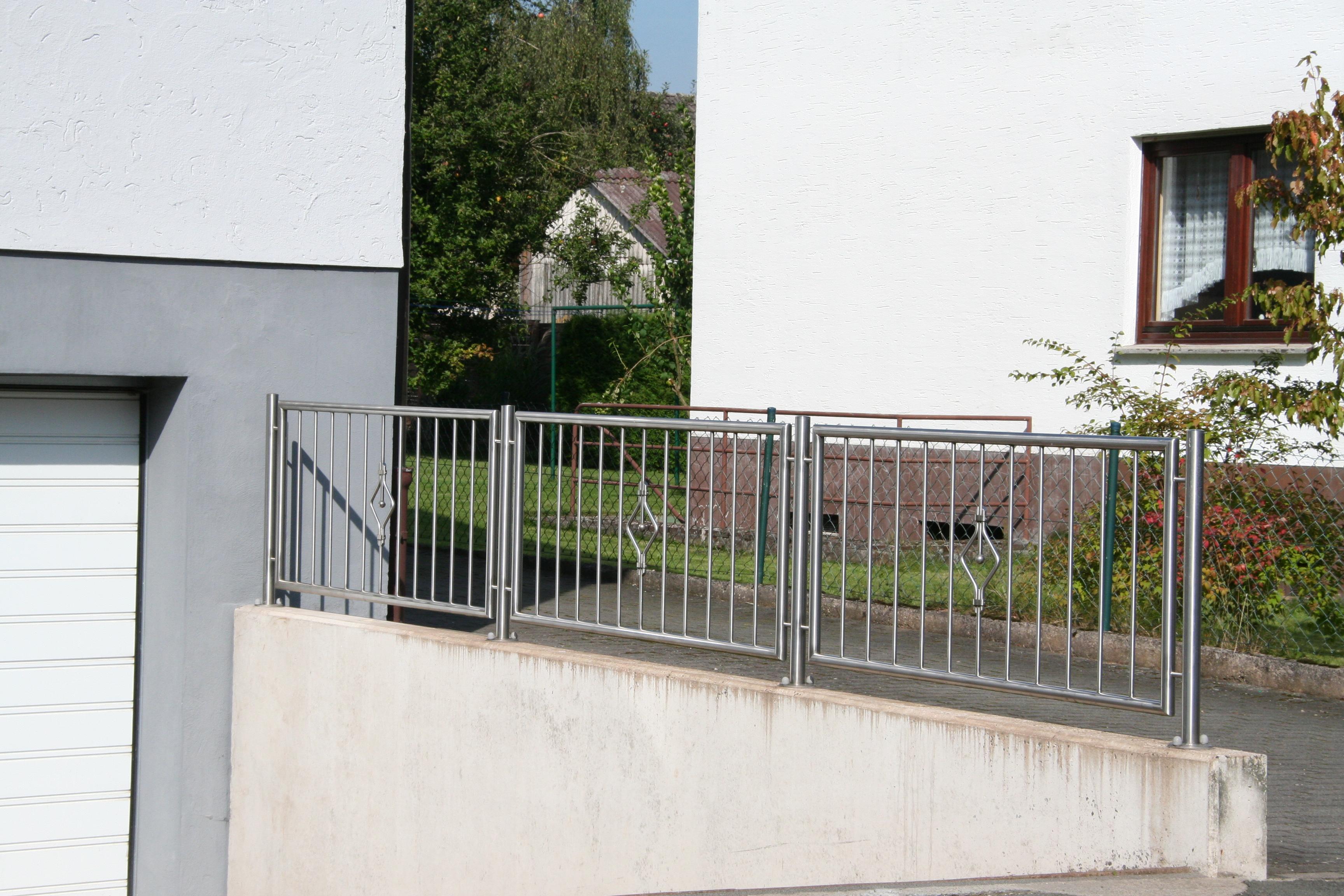 Zaun »0019« von Metallbau Becker & Vogt