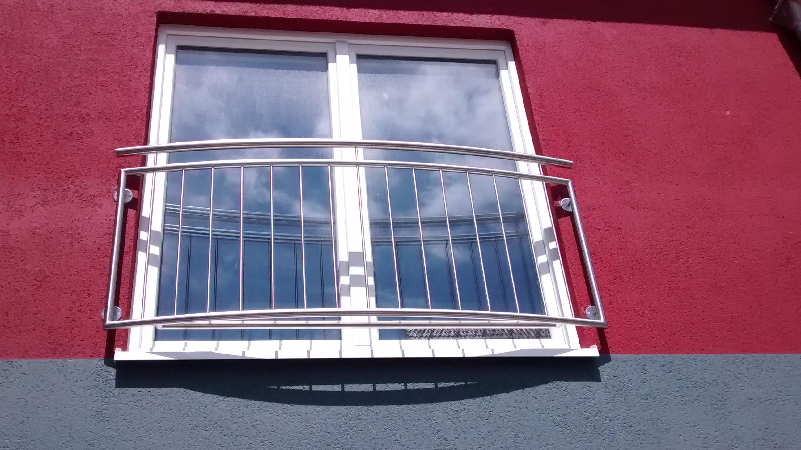 Französischer Balkon »FB132909714« von Metallbau Becker & Vogt